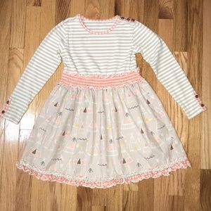 Girls Dress Serendipity by shrimp and grits kids